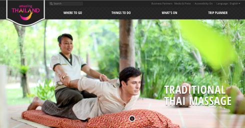 Click photo to go to the official website of Tourism Authority of Thailand.
